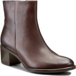 Botki GINO ROSSI - Tesa DBH025-G55-0B00-3700-F 92. Brązowe buty zimowe damskie Gino Rossi, ze skóry. W wyprzedaży za 259,00 zł.