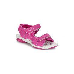 Sandały Dziecko  Primigi  RAPATINOTE. Czerwone sandały dziewczęce marki Born2be, z materiału, z otwartym noskiem, na zamek. Za 183,20 zł.