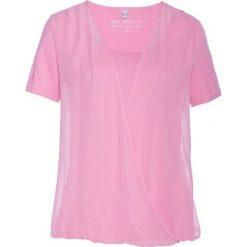 Bluzki damskie: Bluzka shirtowa bonprix jasnoróżowy