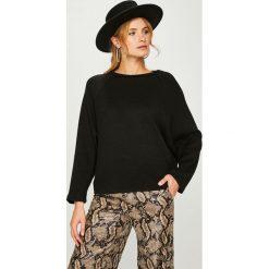 Answear - Sweter Nomad. Szare swetry oversize damskie marki ANSWEAR, l, z dzianiny. W wyprzedaży za 89,90 zł.