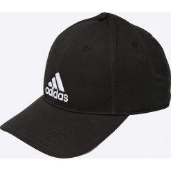 Adidas Performance - Czapka. Czarne czapki z daszkiem damskie adidas Performance, z bawełny. Za 69,90 zł.