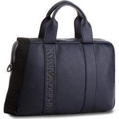 Torba na laptopa EMPORIO ARMANI - Y4P097 YG89J 80455 Blu Indigo. Niebieskie torby na laptopa Emporio Armani, ze skóry ekologicznej. Za 1069,00 zł.