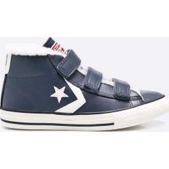 Converse - Trampki dziecięce. Szare buty sportowe chłopięce Converse, z materiału. W wyprzedaży za 179,90 zł.