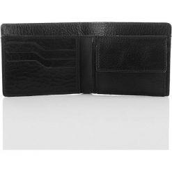 RAFAEL Skóra naturalna portfel męski czarny. Czarne portfele męskie Paolo Peruzzi, ze skóry. Za 79,90 zł.