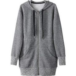 Bluza z kapturem. Szare bluzy damskie marki La Redoute Collections, m, z bawełny, z kapturem. Za 167,96 zł.
