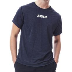 Koszulki sportowe męskie: JOBE Koszulka męska Rashguard Loose Fit Czarna r. S