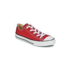 Buty Dziecko Converse  CHUCK TAYLOR ALL STAR CORE OX. Czerwone trampki chłopięce marki Converse, retro. Za 179,10 zł.