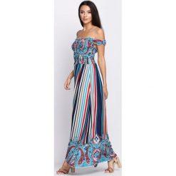 Sukienki: Jasnoniebieska Sukienka Gold Dustless