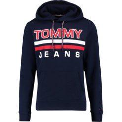 Kardigany męskie: Tommy Jeans ESSENTIAL GRAPHIC HOODIE Bluza z kapturem black iris