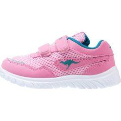 Trampki dziewczęce: KangaROOS INLITE  Tenisówki i Trampki pink/dark smaragd