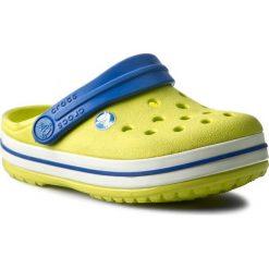 Klapki CROCS - Crocband Kids 10998 Citrus/Sea Blue. Żółte klapki chłopięce marki Crocs, z tworzywa sztucznego. Za 139,00 zł.