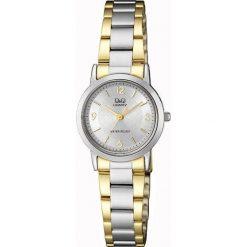 Zegarek Q&Q Damski Klasyczny QA39-404  srebrno-złoty. Szare zegarki damskie Q&Q, złote. Za 135,89 zł.