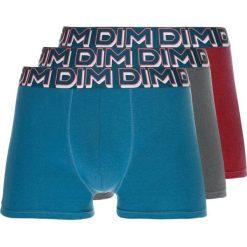 Bokserki męskie: DIM POWER FULL 3 PACK Panty gris fonce/rouge grenat/vert pin