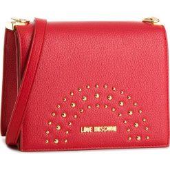 Torebka LOVE MOSCHINO - JC4116PP16LU0500  Rosso. Czerwone listonoszki damskie Love Moschino, ze skóry ekologicznej. W wyprzedaży za 409,00 zł.