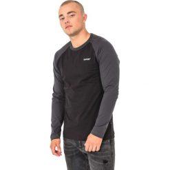 Bluzy męskie: Hi-tec Bluza męska Puro LS Black/Dark Grey r. L
