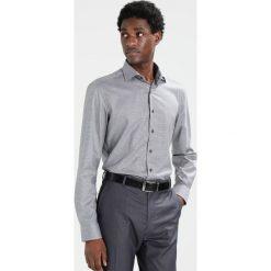 Koszule męskie na spinki: Eterna SLIM FIT PIPING Koszula biznesowa grau