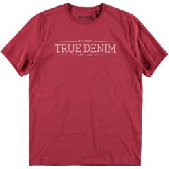 Mustang T-Shirt Męski, Xl, Czerwony. Czarne t-shirty męskie marki Mustang, l, z bawełny, z kapturem. Za 78,00 zł.