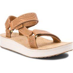 Sandały TEVA - Midform Universal Grometric 1090873 Tan. Brązowe sandały damskie Teva, ze skóry. W wyprzedaży za 219,00 zł.