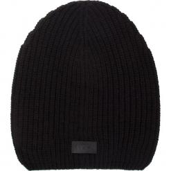 Czapka UGG - M Cardi Stitch Hat 17514 Black. Czarne czapki zimowe damskie Ugg, z materiału. Za 209,00 zł.