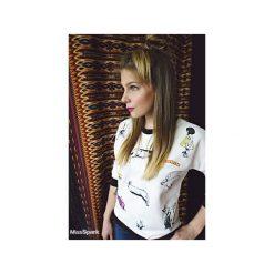 Bluzy rozpinane damskie: Bluza BUNNY TIME biała