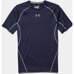 Odzież termoaktywna męska: Under Armour Koszulka termoaktywna HeatGear® Compression Shortsleeve M granatowa r. XS (1257468-410)