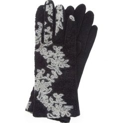 Rękawiczki damskie 47-6-108-1. Czarne rękawiczki damskie marki Wittchen, z wełny. Za 59,00 zł.