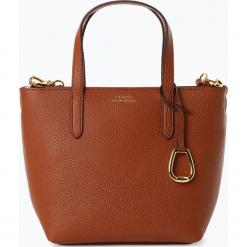 LAUREN RALPH LAUREN - Torebka damska, beżowy. Brązowe torebki klasyczne damskie marki Lauren Ralph Lauren, ze skóry, małe. Za 649,95 zł.