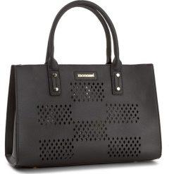Torebka MONNARI - BAG2770-020 Black. Czarne torebki klasyczne damskie marki Monnari, ze skóry ekologicznej, duże. W wyprzedaży za 139,00 zł.