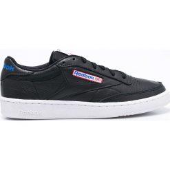 Reebok Classic - Buty Club Classic. Czarne buty skate męskie Reebok Classic, z materiału, na sznurówki, reebok classic. W wyprzedaży za 233,91 zł.