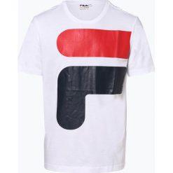 T-shirty męskie z nadrukiem: FILA - T-shirt męski – Carter, czarny