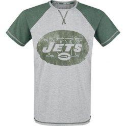 T-shirty męskie z nadrukiem: NFL New York Jets T-Shirt odcienie szarego/zielony