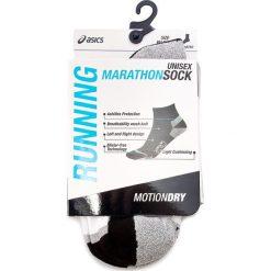Skarpety Niskie Unisex ASICS - Marathon Sock 130890BM 35-38 Real White 0001. Białe skarpetki damskie Asics, z materiału. Za 64,50 zł.