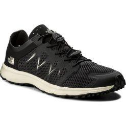 Buty THE NORTH FACE - Litewave Flow Lace T92YA9LQ6 TNF Black/Vintage Black. Czarne buty sportowe męskie The North Face, z materiału, do biegania. W wyprzedaży za 249,00 zł.