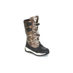 Śniegowce Dziecko Geox  J ORIZONT B G.ABX C. Żółte buty zimowe chłopięce marki Geox. Za 335,20 zł.