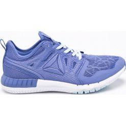 Reebok - Buty ZPrint 3D. Niebieskie buty sportowe damskie Reebok, z materiału. W wyprzedaży za 219,90 zł.