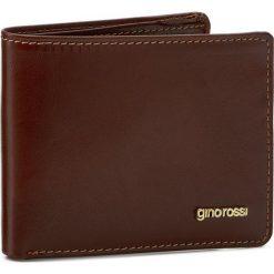 Portfele męskie: Mały Portfel Męski GINO ROSSI – Piemonte AFV353-01S-PL00-3300-X Brązowy