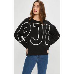 Pepe Jeans - Bluza Cecilia. Szare bluzy rozpinane damskie Pepe Jeans, l, z nadrukiem, z bawełny, bez kaptura. W wyprzedaży za 219,90 zł.