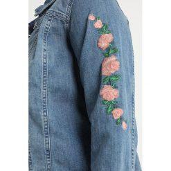 Bomberki damskie: Zizzi MGARY JACKET Kurtka jeansowa light blue denim