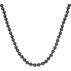 Biżuteria i zegarki: Naszyjnik z pereł w kolorze tahiti – dł. 120 cm