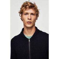 Mango Man - Sweter Binger. Szare swetry klasyczne męskie marki Mango Man, l, z bawełny. W wyprzedaży za 99,90 zł.