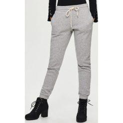 Spodnie dresowe damskie: Spodnie dresowe – Jasny szar
