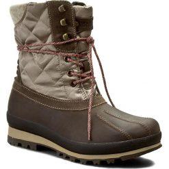 Śniegowce NAPAPIJRI - Greta 13742529 Tundra N77. Brązowe buty zimowe damskie marki Napapijri, z materiału. W wyprzedaży za 399,00 zł.