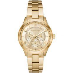 Zegarek MICHAEL KORS - Runway MK6588 Gold/Gold. Żółte zegarki damskie Michael Kors. Za 1149,00 zł.