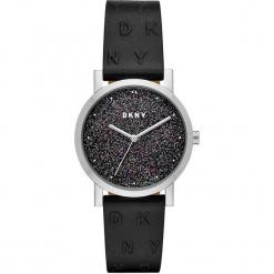 Dkny - Zegarek NY2775. Czarne zegarki damskie DKNY, szklane. Za 449,90 zł.
