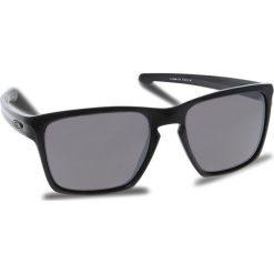 Okulary przeciwsłoneczne OAKLEY - Sliver Xl OO9341-1757 Polished Black/Prizm Black Iridium. Czarne okulary przeciwsłoneczne męskie aviatory Oakley, z tworzywa sztucznego. W wyprzedaży za 479,00 zł.