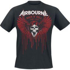 T-shirty męskie: Airbourne Blood Wings T-Shirt czarny