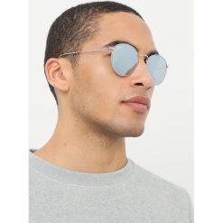 RayBan ROUND METAL Okulary przeciwsłoneczne light green/mirror silvercoloured. Szare okulary przeciwsłoneczne damskie marki Ray-Ban, z materiału. Za 669,00 zł.