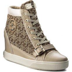 Sneakersy damskie: Sneakersy GUESS – Fiore FLIOE1 FAL12 BEIBR