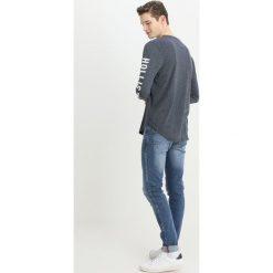 Jeansy męskie regular: OVS Jeans Skinny Fit mid blue