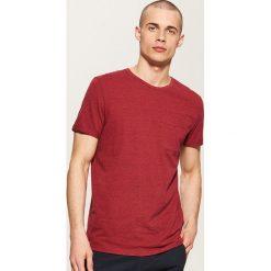 T-shirty męskie: T-shirt z kieszonką – Różowy